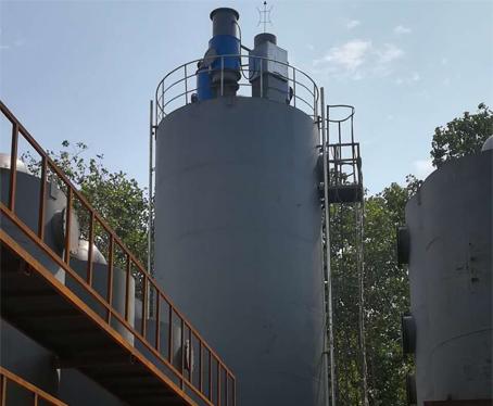 防水卷材烟气净化系统